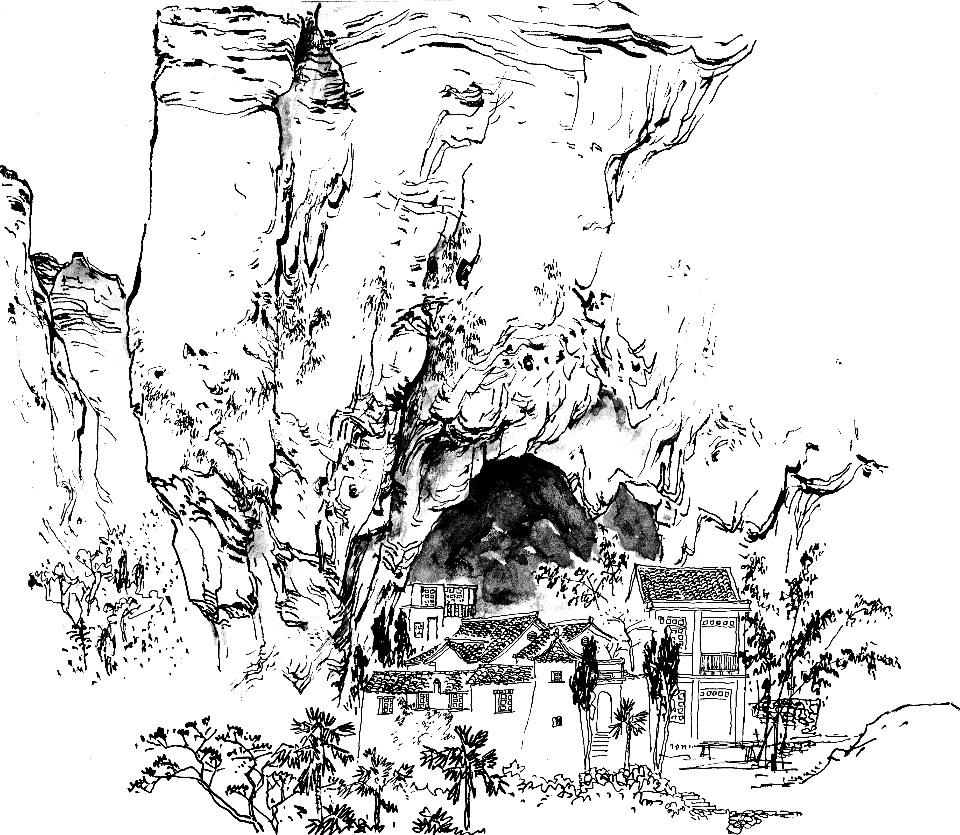 国画 简笔画 手绘 线稿 960_835